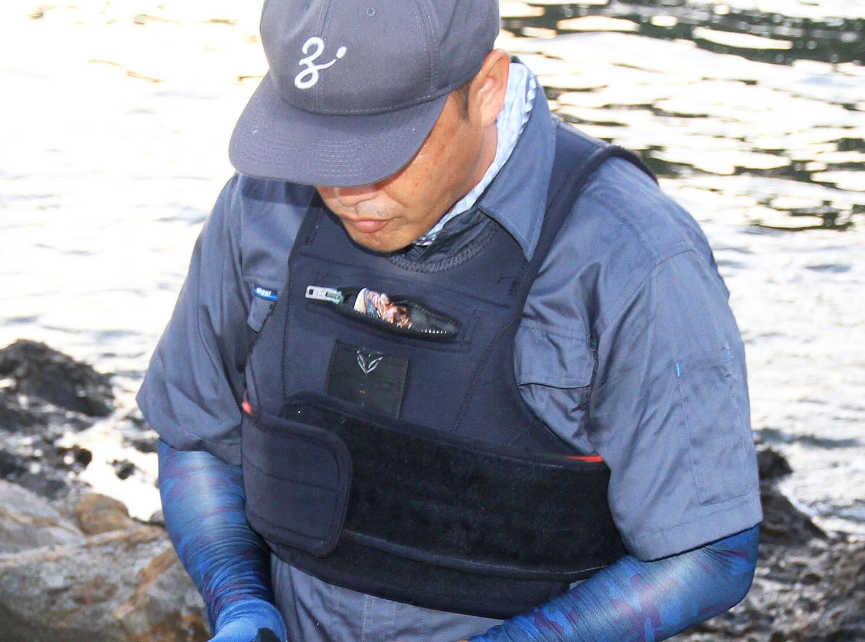 磯の青物釣り・寒ブリ2