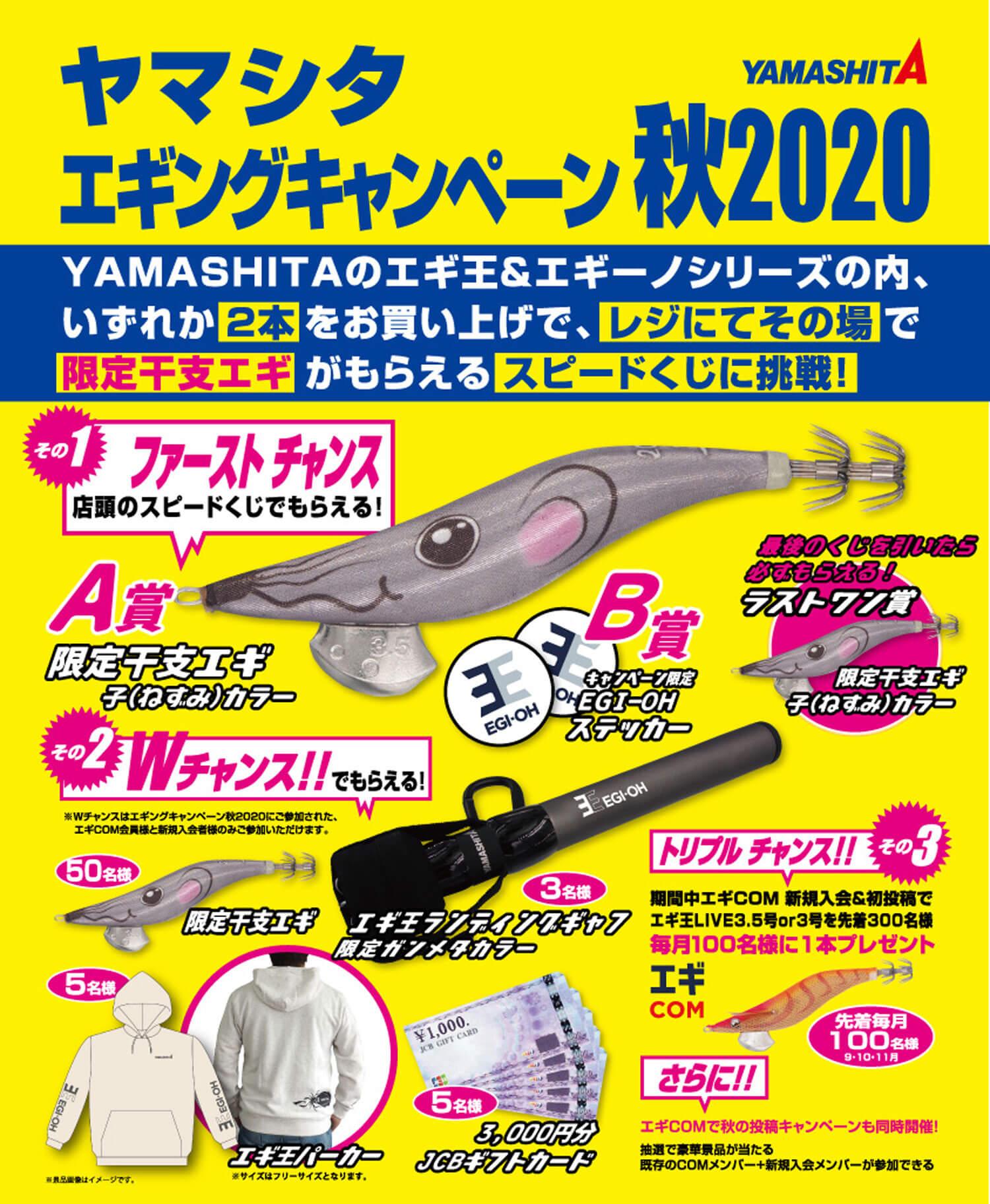 釣りキャンペーン・青物・エギング3